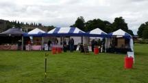 stalls setting up